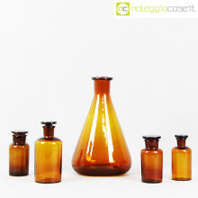 Vetri da laboratorio ambra chiaro