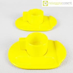 Gabbianelli, coppia tazze gialle con piattino serie Liisi, Liisi Beckmann (2)
