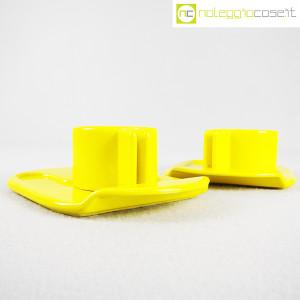 Gabbianelli, coppia tazze gialle con piattino serie Liisi, Liisi Beckmann (3)