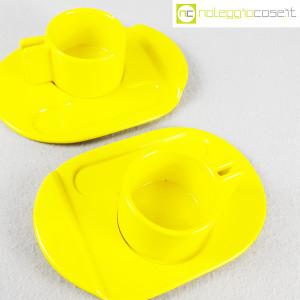 Gabbianelli, coppia tazze gialle con piattino serie Liisi, Liisi Beckmann (4)