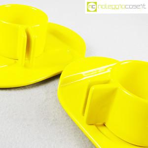 Gabbianelli, coppia tazze gialle con piattino serie Liisi, Liisi Beckmann (6)
