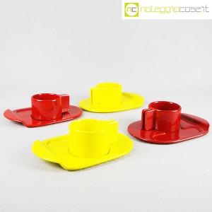 Gabbianelli, coppia tazze gialle con piattino serie Liisi, Liisi Beckmann (9)