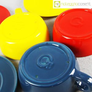 Gabbianelli, set tazze colorate, Liisi Beckmann (9)