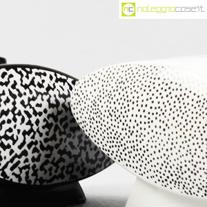 Mas Ceramiche, zuccheriera bianca e nera postmodern, Massimo Materassi (7)