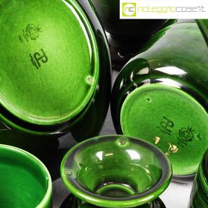 Ceramiche Franco Pozzi, caraffe con bicchieri verde scuro, Ambrogio Pozzi (8)