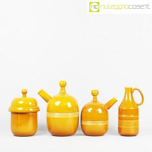 Ceramiche Franco Pozzi, caraffe e contenitore ocra, Ambrogio Pozzi (2)