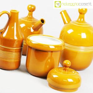 Ceramiche Franco Pozzi, caraffe e contenitore ocra, Ambrogio Pozzi (5)