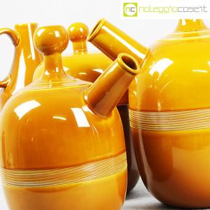 Ceramiche Franco Pozzi, caraffe e contenitore ocra, Ambrogio Pozzi (6)