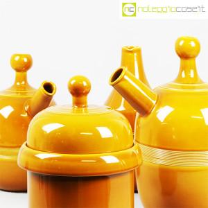 Ceramiche Franco Pozzi, caraffe e contenitore ocra, Ambrogio Pozzi (7)