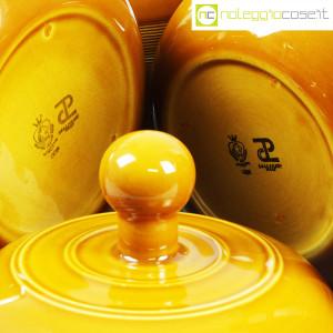 Ceramiche Franco Pozzi, caraffe e contenitore ocra, Ambrogio Pozzi (8)