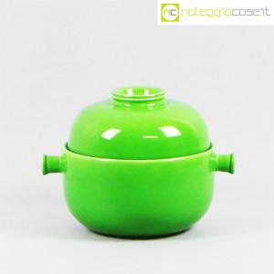 Ceramiche Franco Pozzi, contenitore e tazze verdi, Ambrogio Pozzi (4)