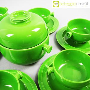 Ceramiche Franco Pozzi, contenitore e tazze verdi, Ambrogio Pozzi (5)