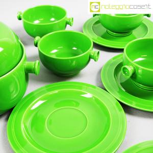 Ceramiche Franco Pozzi, contenitore e tazze verdi, Ambrogio Pozzi (7)