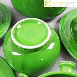 Ceramiche Franco Pozzi, contenitore e tazze verdi, Ambrogio Pozzi (8)