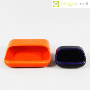 Gabbianelli, set posacenere arancio e blu (2)