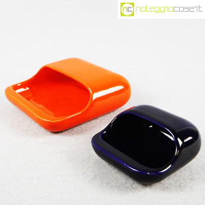 Gabbianelli, set posacenere arancio e blu (3)