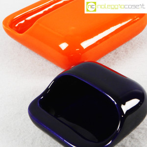 Gabbianelli, set posacenere arancio e blu (5)