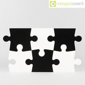 Puzzle enorme in legno bianco e nero (2)