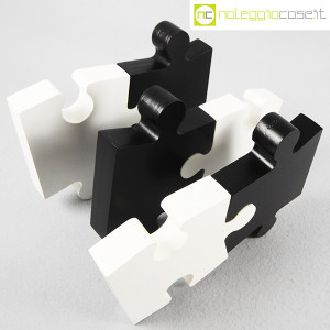 Puzzle enorme in legno bianco e nero (4)