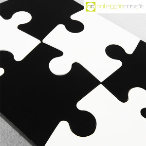 Puzzle enorme in legno bianco e nero (8)