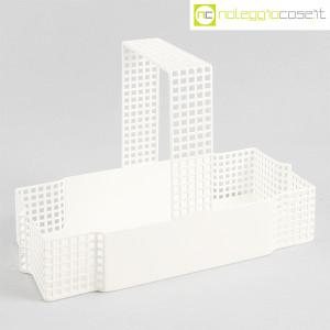 Bieffeplast, cestino centrotavola bianco, Josef Hoffmann (1)