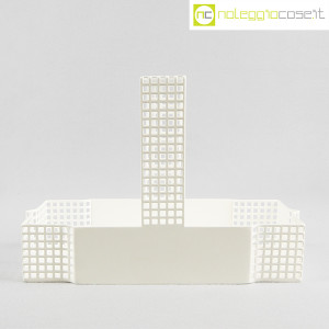 Bieffeplast, cestino centrotavola bianco, Josef Hoffmann (2)