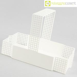 Bieffeplast, cestino centrotavola bianco, Josef Hoffmann (3)