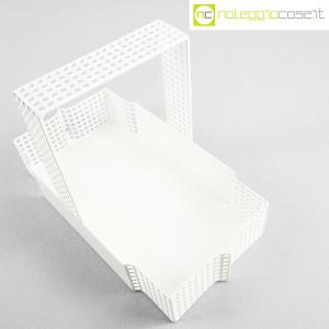 Bieffeplast, cestino centrotavola bianco, Josef Hoffmann (4)