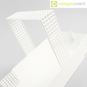 Bieffeplast, cestino centrotavola bianco, Josef Hoffmann (5)