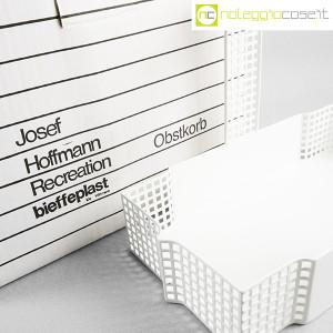 Bieffeplast, cestino centrotavola bianco, Josef Hoffmann (8)