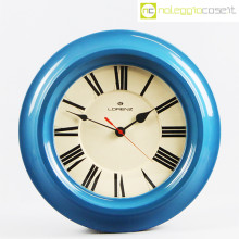 Lorenz orologio da muro blu