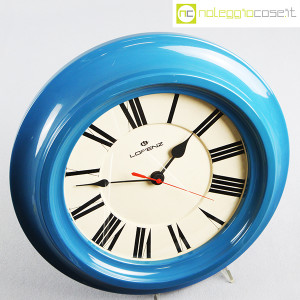 Lorenz, orologio da muro blu (4)
