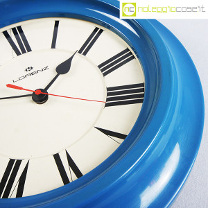 Lorenz, orologio da muro blu (8)
