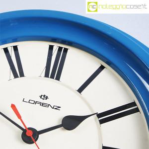 Lorenz, orologio da muro blu (9)