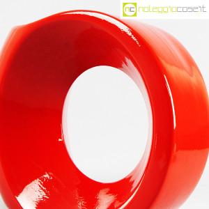 Parravicini Ceramiche, vaso rosso con buco (5)