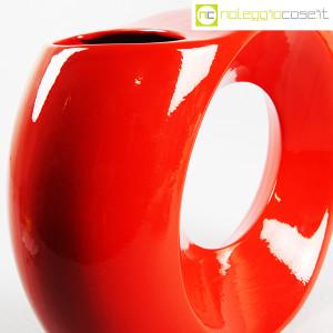 Parravicini Ceramiche, vaso rosso con buco (6)