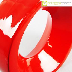 Parravicini Ceramiche, vaso rosso con buco (7)