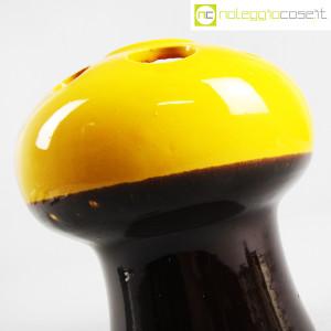 Vaso a fungo giallo marrone (5)