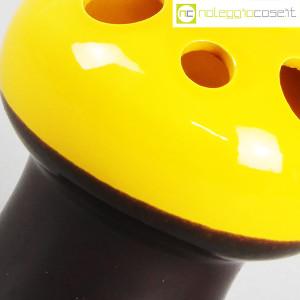 Vaso a fungo giallo marrone (7)