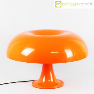 Artemide, lampada Nesso arancio, Giancarlo Mattioli (1)