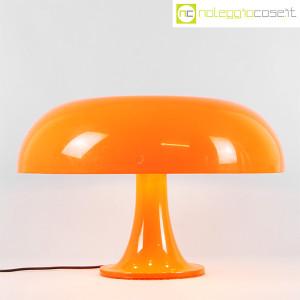 Artemide, lampada Nesso arancio, Giancarlo Mattioli (2)