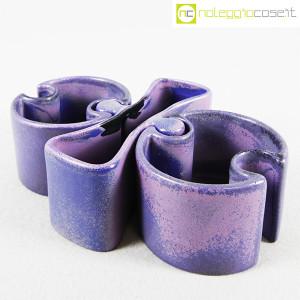 Ceramiche Brambilla, set ceramiche componibili blu, Angelo Mangiarotti (1)
