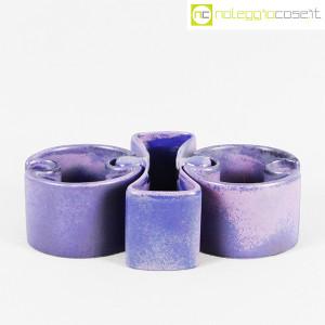 Ceramiche Brambilla, set ceramiche componibili blu, Angelo Mangiarotti (2)