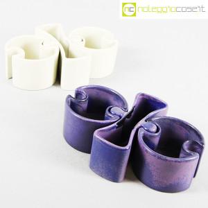 Ceramiche Brambilla, set ceramiche componibili blu, Angelo Mangiarotti (9)