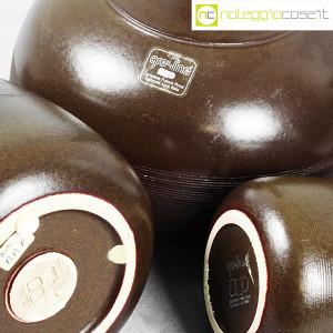 Ceramiche Franco Pozzi, tris brocche marroni, Ambrogio Pozzi (8)