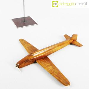 Modellino di aereo in legno con base (5)