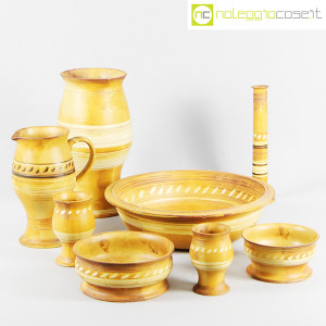 Ceramiche Franco Pozzi, set in ceramica serie le Terre, Ambrogio Pozzi (1)