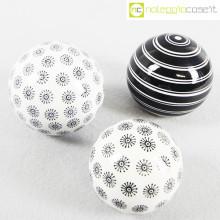 Sfere in ceramica decorate