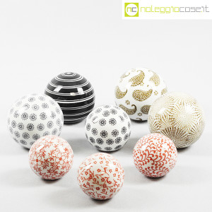 Sfere in ceramica decorate (9)