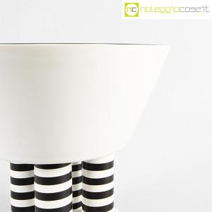 Vienna Collection, alzata in ceramica bianco e nero, Heide Warlamis (6)